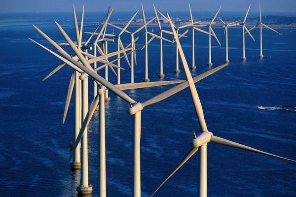 Parco eolico offshore di Middelgrunden, nel lago di Copenhag