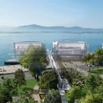 Il museo sospeso sull'acqua di Renzo Piano