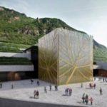 """Nuova Cantina Bolzano: l'architettura """"green"""" a servizio del vino di qualità"""