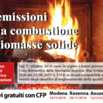Le emissioni nella combustione di biomasse