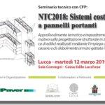 NTC18: Sistemi costruttivi a pannelli portanti
