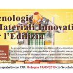 Tecnologie e Materiali Innovativi per l'edilizia - Bologna