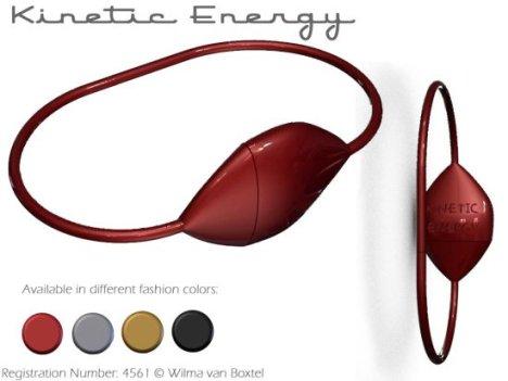 Kinetic Energy: il braccialetto che produce energia