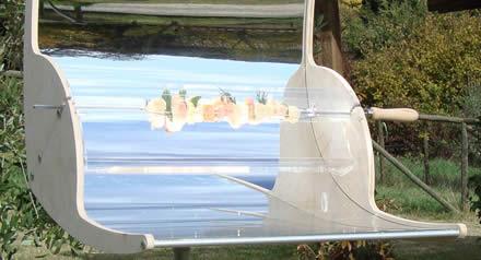 Biogrì: il barbecue solare