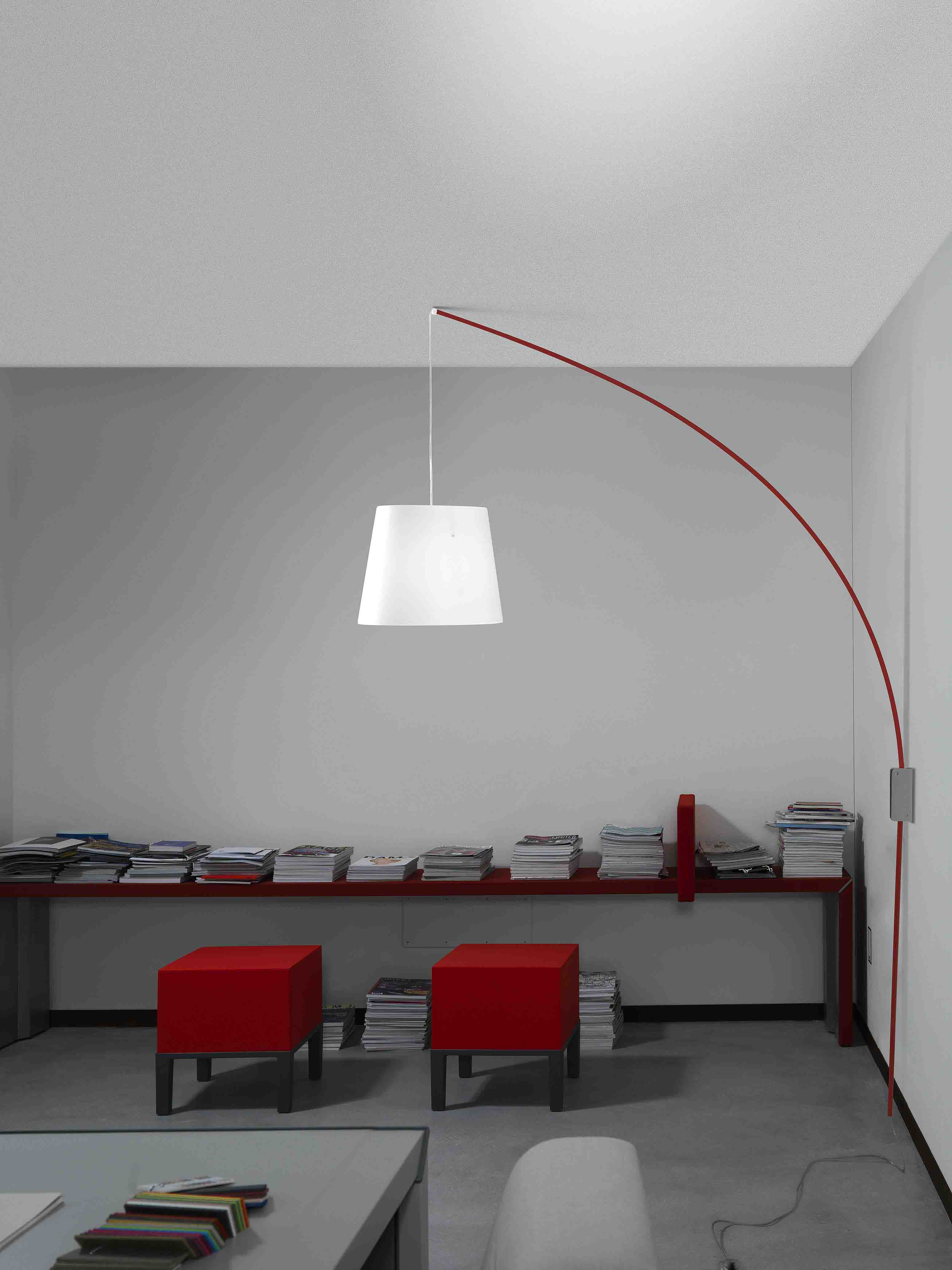 Lampada Da Terra Ad Arco Prezzi. Trendy Lampada Ad Arco Cm Bianco ...